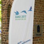Fahne - HAKO 2017 grenzenlos