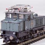 Fleischmann E 60 08 von vorne - Modelleisenbahn-Produktfotografie - Würzburg