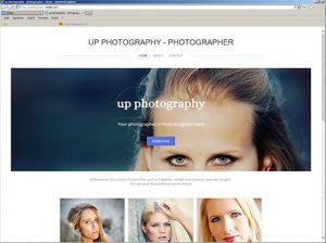 CMS - Homepage für Fotografen - weebly
